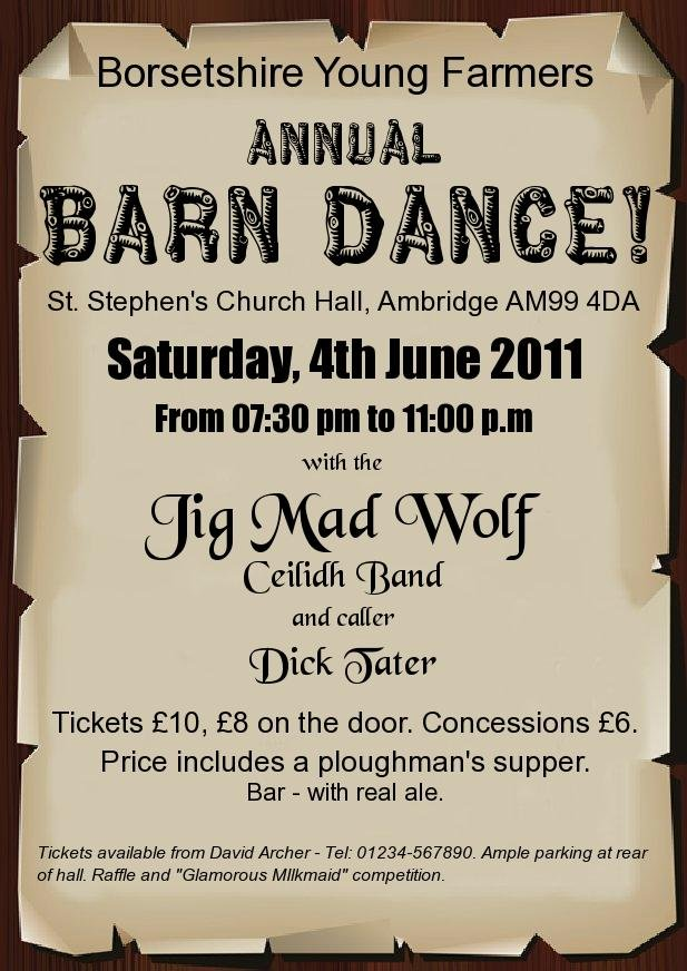 Jig Mad Wolf Ceilidh and Barn Dance Band - Free Apps