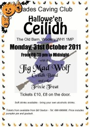 Jig Mad Wolf - sample Halloween ceilidh poster - please click to enlarge ...