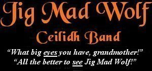 Image: Jig Mad Wolf Ceilidh and Barn Dance Band Banner - Images