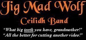 Image: Jig Mad Wolf Ceilidh and Barn Dance Band Banner - Video
